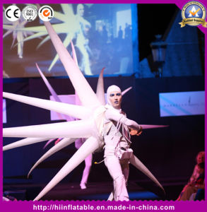 Customized New Design Performance Inflatable Air Star Balloon Costume for Disco Decor