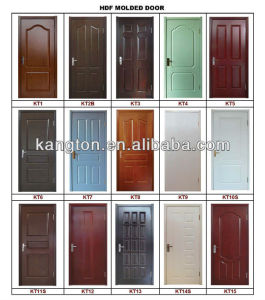High Quality Interior Molded Door (HDF Moulded door) pictures & photos