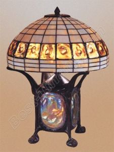Tiffany Table Lamp With Lighting Metal Turtleback Base (TLS140-16) pictures & photos