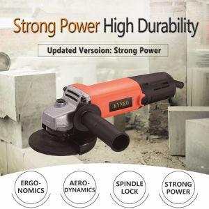 720W/100mm Kynko Electric Angle Grinder for Stone (6021)