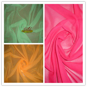 100% Polyester 60s Dyed Voile Fabric for Scarf