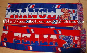 Fan Football Jacquard Scarf -1
