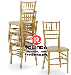Gold Wooden Wedding Chiavari Chair pictures & photos