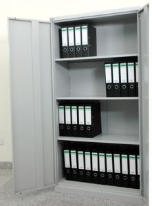 High Quality Steel Office Cupboard with 3-4 Shelves Made in China (JH-025)