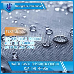 Transparent Fabric Water Repellent PF-206 pictures & photos