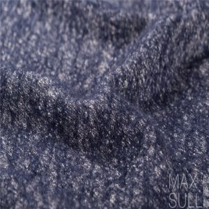 Wool/Cotton Fabric for Autumn/Winter in Navy
