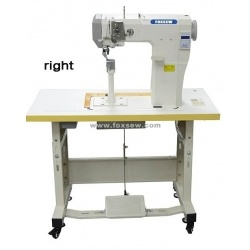 Small High Post-Bed Heavy Duty Lockstitch Sewing Machine pictures & photos