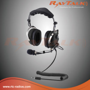Aviation Helicopter Headset with Flexible Boom Microphone pictures & photos