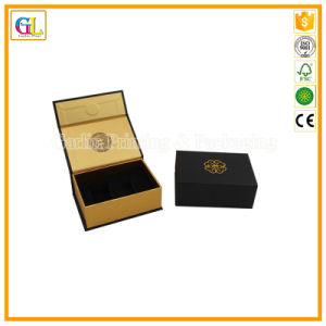 Custom High Quality Black Cardboard Gift Box pictures & photos
