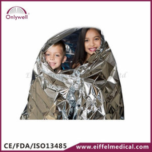 Medical First Aid Emergency Rescue Golden and Silver Blanket