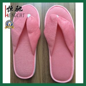 EVA Sole Toweling Straps Soft Slipper for Household and Hotel