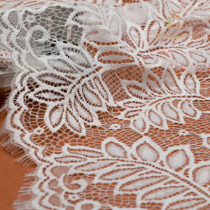 French Lace Fabric Customized off White Wedding Dress Guipure Lace Fabric pictures & photos