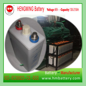 Hengming NiCd Battery 48vgnc150 1.2V 150ah Kpx Series/Ultra High Rate/Alkaline Rechargeable Battery and Sintered Plate Battery for Generator Set pictures & photos