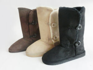 High Quality Winter Warm Soft Snow Boots for Ladies pictures & photos