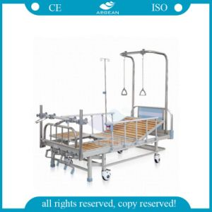 AG-Ob002 Ce ISO Approved with 4-Crank Detachable Orthopedic Medical Treatment Beds pictures & photos