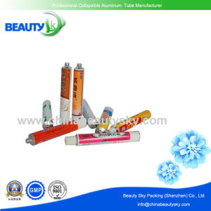 13.5mm Diameter with Long Nozzle Empty Aluminum Tube for Eye Cream pictures & photos