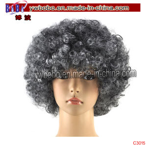 Afro Party Wig Garment Accessory Carnival Hallowen Clown Party (C3015) pictures & photos