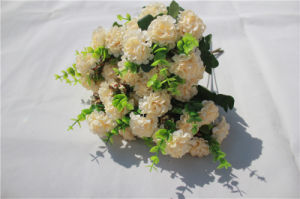 Wholesale Cheap Silk Hydrangea Artificial Flowers for Decoration pictures & photos