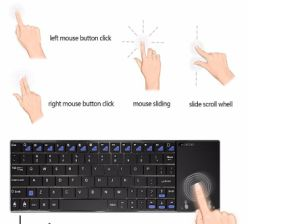 2017 Air Mouse with Touchpad 2.4G Wireless Keyboard Minix Neo K2 Version pictures & photos