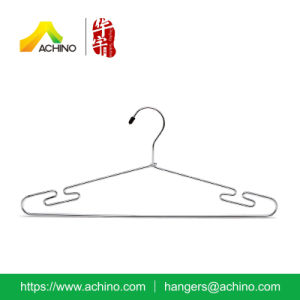 Space Saving Metal Suit Hangers with Hook (MCSH100) pictures & photos