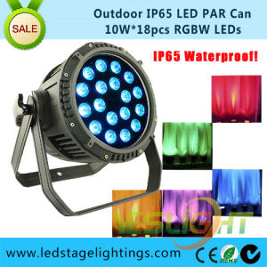 18PCS*8W LED PAR Light Factory RGBW 4in1 Outdoor Decoration with DMX512 Signal