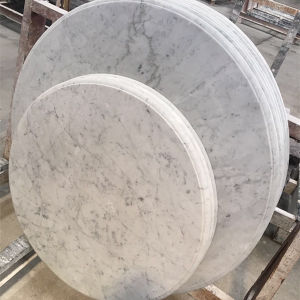 Factory Direct Sale Carrara White Marble Countertop Table Tops