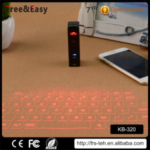 Customr Top Quality Wireless Bluetooth Lase Virtual Keyboard pictures & photos