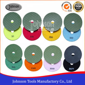 Od100mm Diamond Dry Polishing Pad for Stone pictures & photos