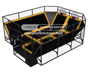 Cheer Amusement Trampoline Park Equipment with Best Prices pictures & photos