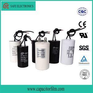Cbb60 AC Motor Run Platstic Case Capacitor