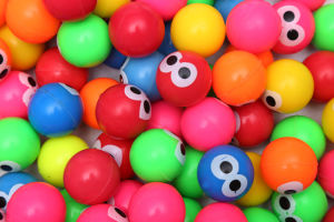 This Is a Pattern of Elastic Ball Eyes/Rubber Balls / Bouncy Balls