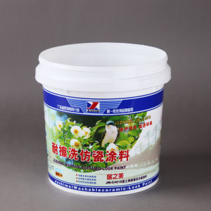 20L in Mould Labeling Plastic Bucket Pail pictures & photos