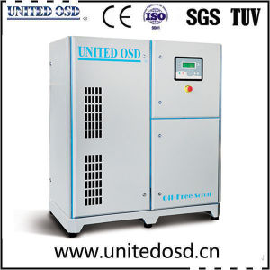 7.7kw/10HP Oil Free Scroll Air Compressor for Industrial