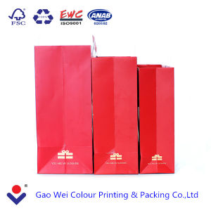 2016 OEM Custom Christmas Gift Printed Shopping Paper Bag pictures & photos