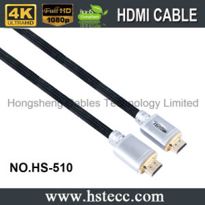 High End Metal V2.0 V1.4 HDMI Cable for xBox PS4 HDTV 2160p with Ethernet