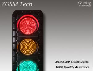 Manufacture Production LED Traffic Warning Light for 300mm 400mm