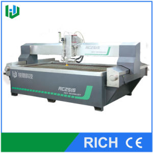 Water Jet Cutting Machine for Rebar Carpet Leather pictures & photos