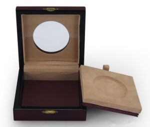 Collection Coin Display Box with Round Window pictures & photos