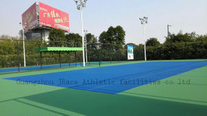 Itf Soft Spu Tennis Court Surface Material (JRace CD002) pictures & photos