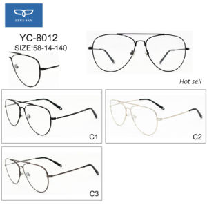 Vintage Metal Optical Glasses Spectacles Eyeglasses Frame Factory Directly Supply Ready Goods