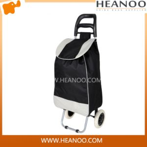 High Quality Lightweight Rolling Wheels Vintage Shopping Trolley Bags pictures & photos