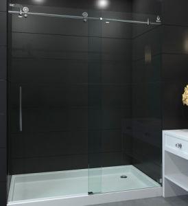 China 56 60 X 75 Frameless Sliding Shower Door 38 Clear