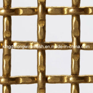 Crimped Square Decorative Dutch Stainless Steel Crimped Wire Mesh pictures & photos