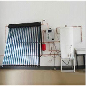 Heat Pipe Solar Collector with Controller and Water Tank pictures & photos