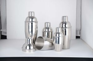 High Quality Stainless Steel Cocktail Shaker Made in China Dn-999 pictures & photos