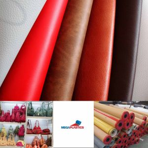 PVC Leather Fabric for Making Women Bags Shoes pictures & photos