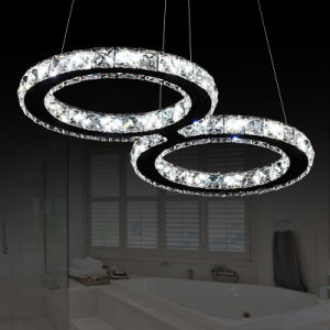 LED Crystal Pendant Light with CE 24W