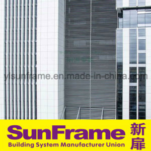 Aluminium Louvers for Curtain Wall pictures & photos
