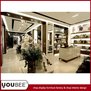 Laides′ Handbag and Shoes Shop Interior Design From Factory