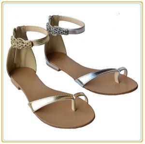 Womens Summer Gladiator Sandals Flats Zipper Strap Ladies Fashion Shoe